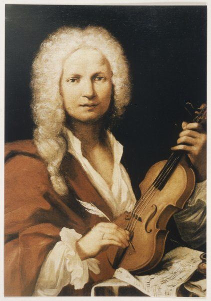 ANTONIO VIVALDI Italian composer and violinist