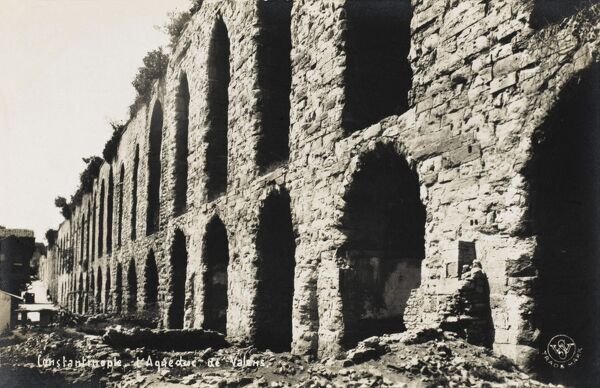 The Aqueduct of Valens in Constantinople