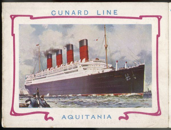 Passenger liner on the trans- Atlantic run