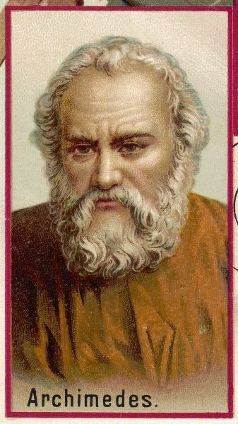 Archimedes, Greek mathematician and inventor