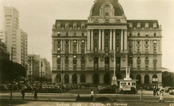Argentina - Buenos Aires - The Palacio Correos (Postal Palace). Photo (28/40) from a fold-out set