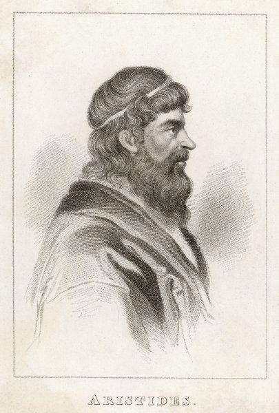ARISTIDES THE JUST Athenian statesman