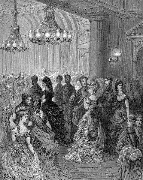 Ball at Mansion House Date: 1870