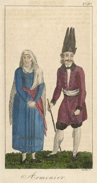 Man and woman of Armenia