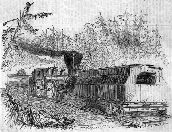 Iron-car battery on the Philadelphia Railway