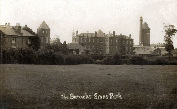 Part of the ASC (Army Service Corps) Barracks on Marvels Lane, Grove Park, Lewisham, south east London