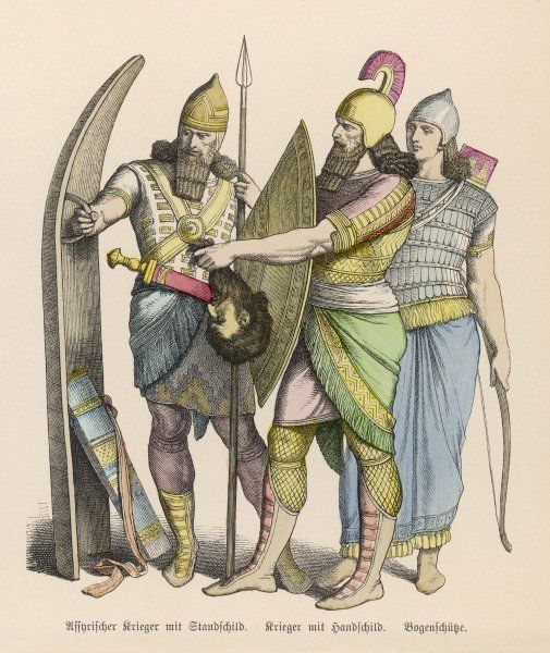 ANCIENT ASSYRIA Protective clothing and weaponry of Ancient Assyrian Warriors