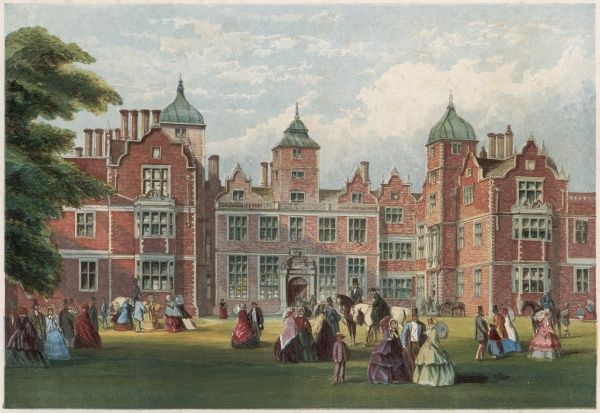 Queen Victoria's visit to Aston Hall