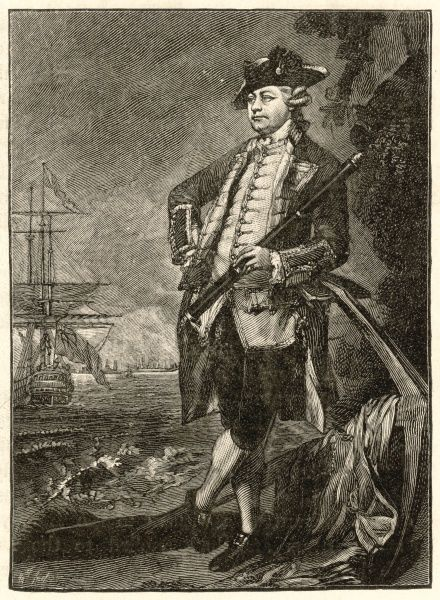 AUGUSTUS JOHN HERVEY, third earl of BRISTOL Naval commander, gave evidence at Byng's trial : husband of Elizabeth Chudleigh, a lady of scandalous habits
