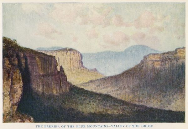 The Blue Mountains, New South Wales - Valley of the Grose