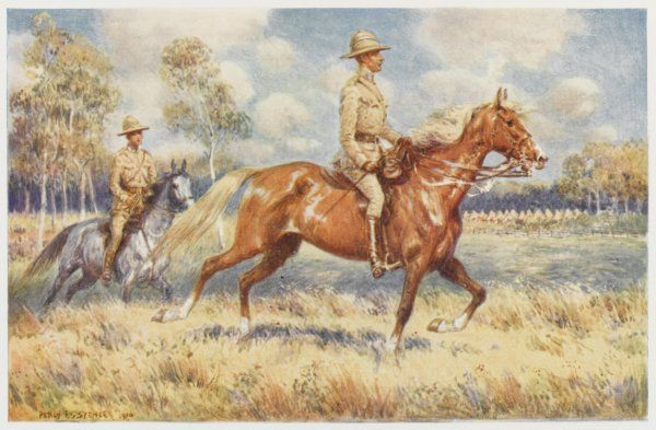 A Colonel of Australia's citizen forces