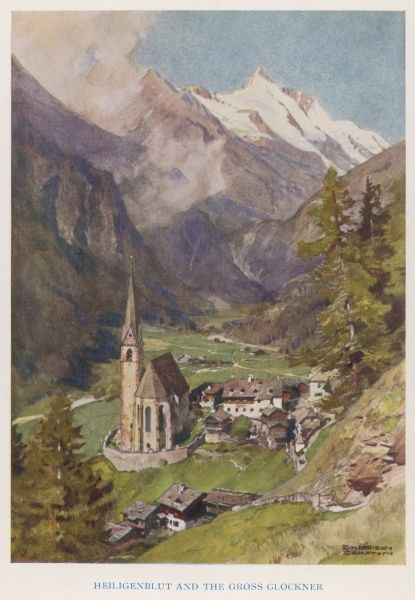 Heiligenblut (Holy Blood) and the Gross Glockner church