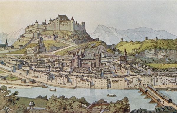 Salzburg in the 16th century