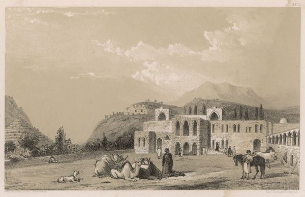 The Emir's palace at Bait-ad- din (Beteddin)