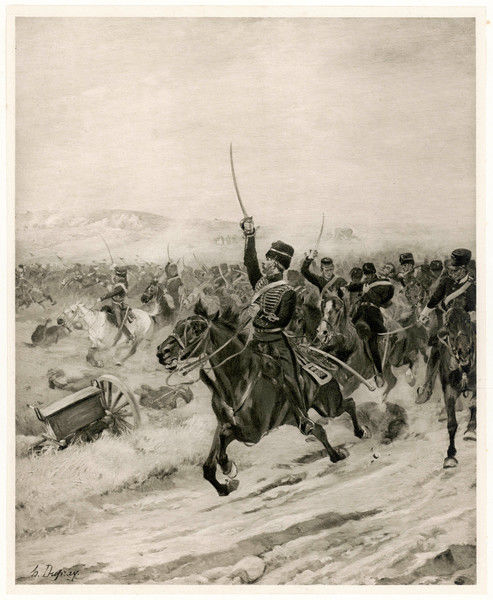 The Charge of the Light Brigade - 'into the Valley of Death !&#39