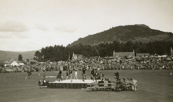 The Ballater Highland Games Date: circa 1937