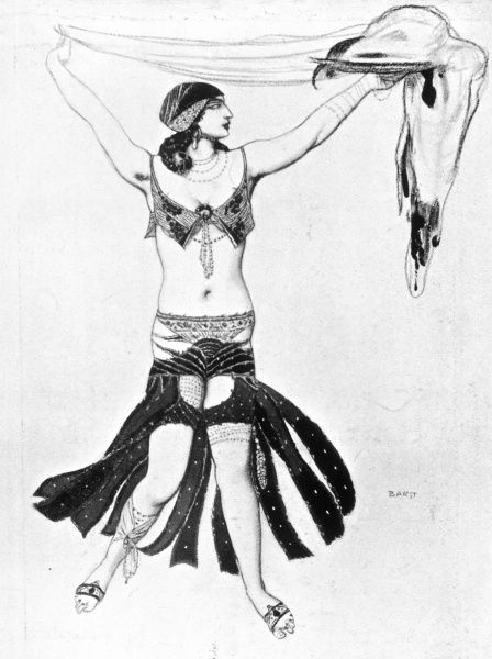 SALOME Costume design for Salome (Kouznetzov)