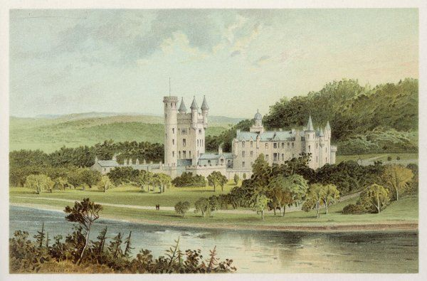 General view of Balmoral castle