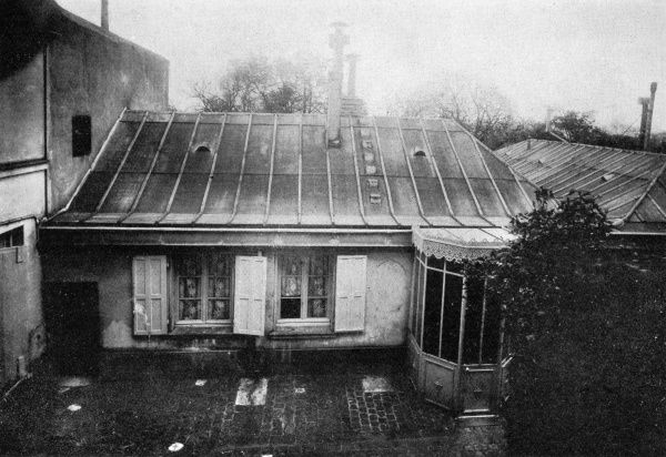 HONORE DE BALZAC French novelist's home in Passy, Paris, where he lived from 1840 until 1847