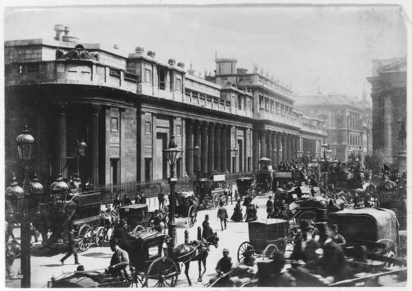 The Bank of England, Threadneedle St