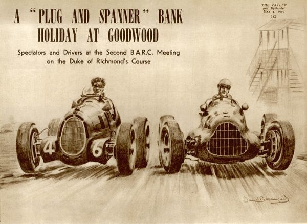 A 'plug and spanner' bank holiday at Goodwood