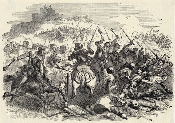 The Scottish army led by King Robert de Bruce VIII defeat the invading English army of Edward II