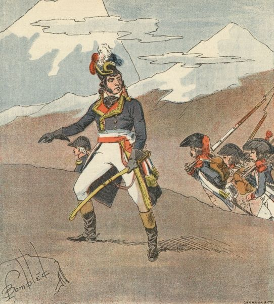 BARTHELEMY JOUBERT - French soldier (served in Italy during the Napoleonic campaigns) Date: 1769 - 1799