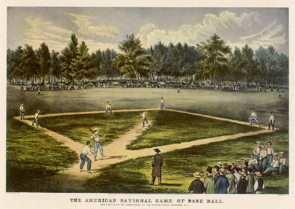 Grand match for the championship at the Elysian Fields, Hoboken, New Jersey