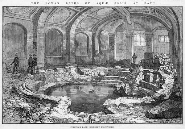 The Roman Baths of Aquae Solis at Bath, Avon