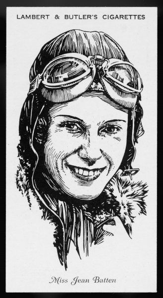Jean Batten: she made several long-distance flights