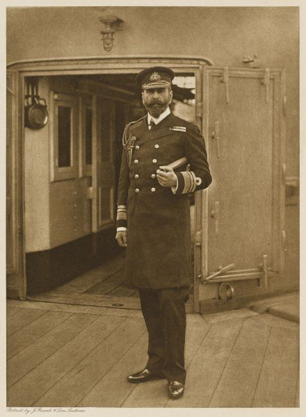 PRINCE LOUIS ALEXANDER OF BATTENBERG: Austrian noble, naturalised British 1868, naval officer: changed name to Mountbatten 1917, 1st marquis of Milford Haven