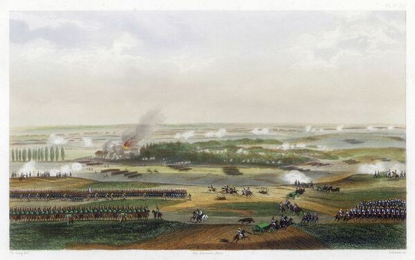 Battle of Waterloo. THE HUNDRED DAYS Battle of WATERLOO The action at 11