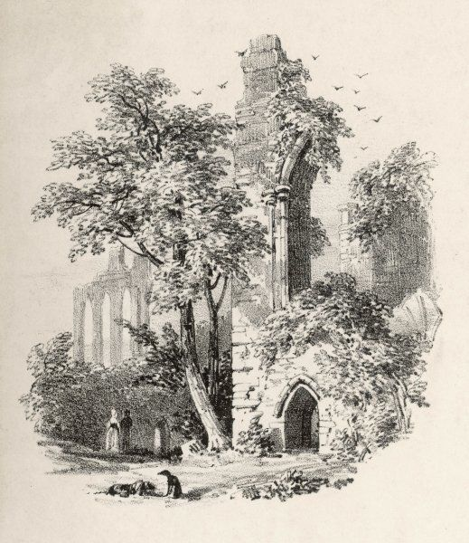 Bayham Abbey, a Premonstratensian monastery on the Kent and Sussex borders, was founded by Robert Thornham at the turn of the 12th century