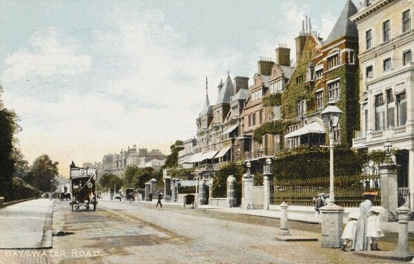 Bayswater Road, London