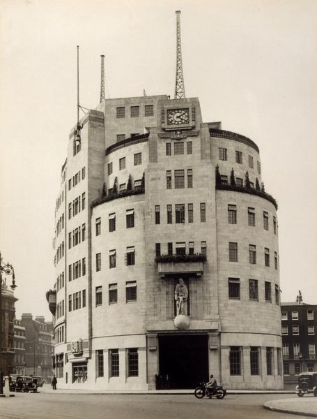 BBC Broadcasting House at Portland Place, London