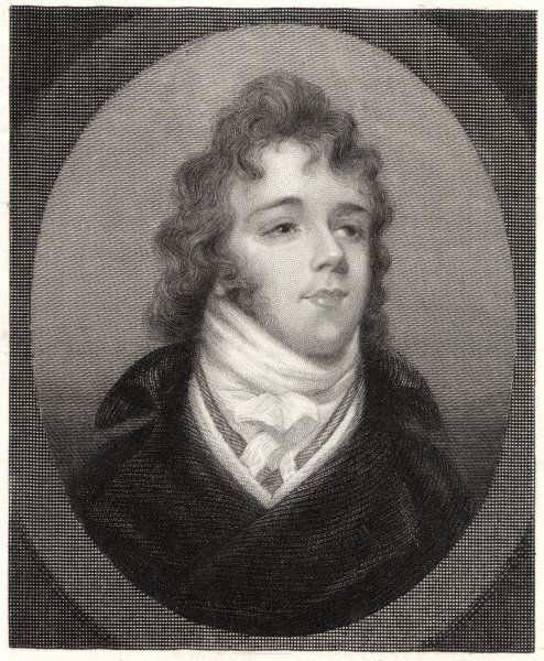 GEORGE BRYAN (BEAU) BRUMMELL English dandy and friend of the Prince of Wales