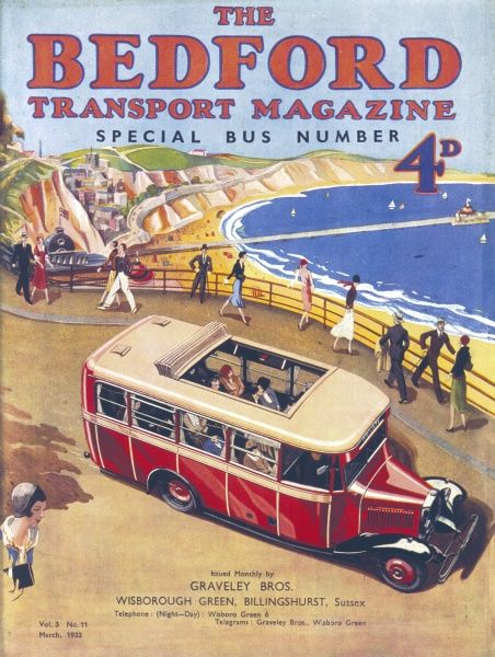 The Bedford Transport Magazine - Special Bus Number - March 1933