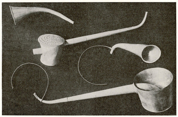 Selection of ear trumpets (which once belonged to Beethoven)