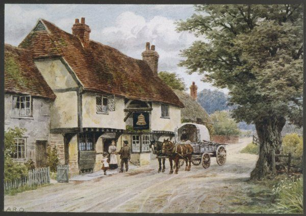The Bell Inn, Waltham St. Lawrence, Berkshire