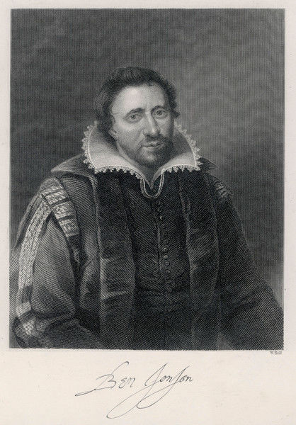 BEN JONSON English playwright and poet