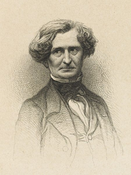 Louis Hector Berlioz 1803 - 1869. Major French Romantic composer, influential in the development of the symphonic form