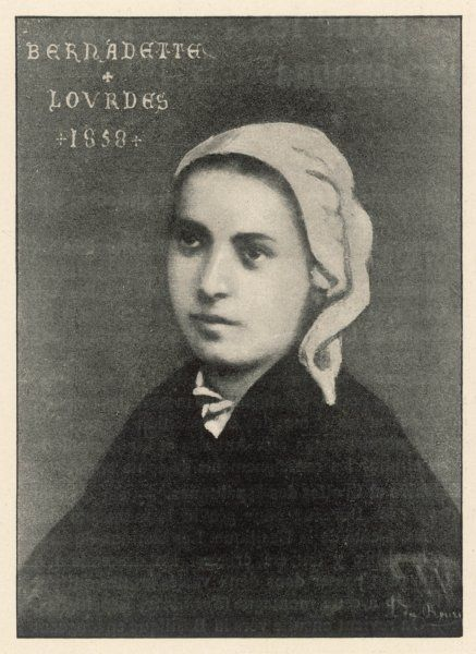 BERNADETTE SOUBIROUS in the year of her visions