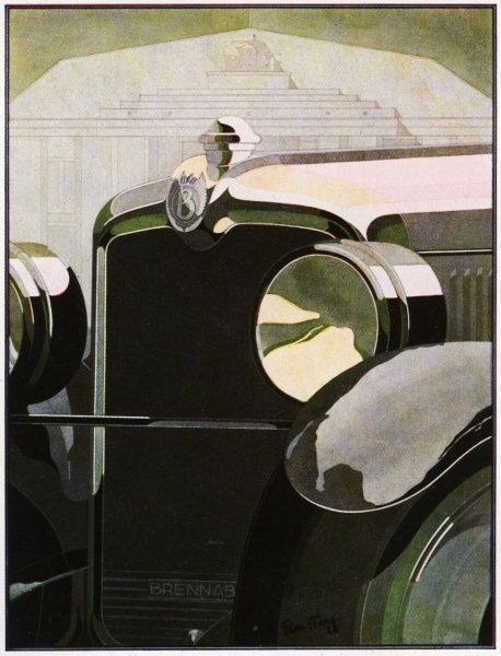 Bernd Reuters (1901-1958). Bentley Radiator 1928.jpg