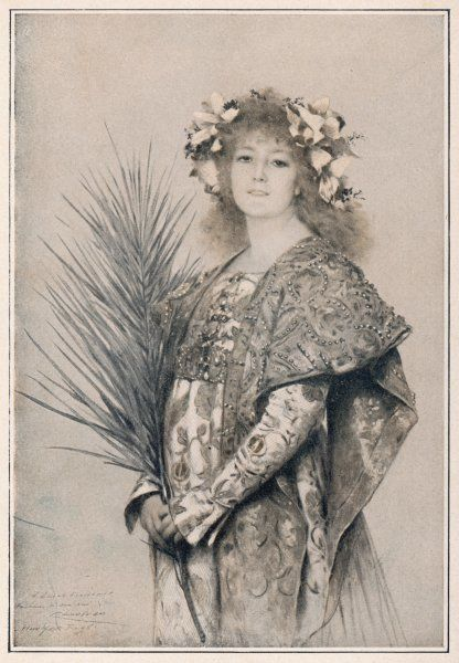 SARAH BERNHARDT French actress in 'Gismonda&#39