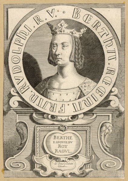 BERTHE, queen of Raoul, king of France
