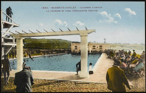Biarritz: the famous swimming pool