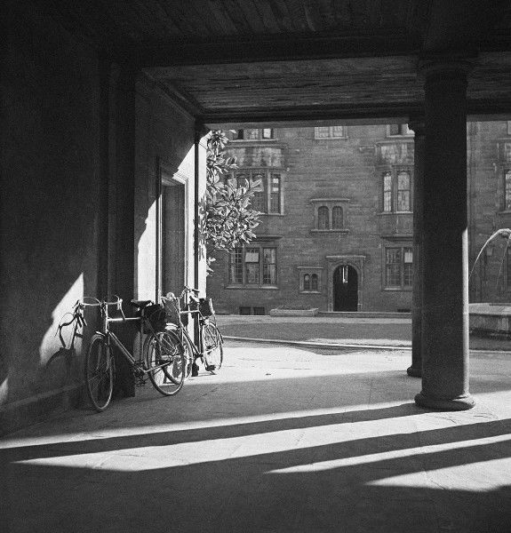 Bicycles, Cambridge. Photograph by Norman Synge Waller Budd