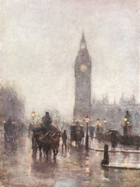 Parliament Square and Big Ben Date: 1898