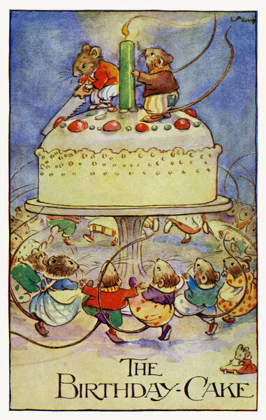 Magnificent The Birthday Cake 14235325 Framed Prints Wall Art Posters Canvas Personalised Birthday Cards Paralily Jamesorg