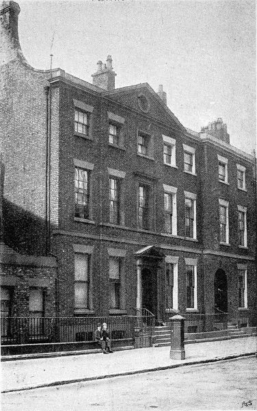 Photograph of 62 Rodney Street, Liverpool; the birthplace of William Ewart Gladstone (1809-1898), the English Liberal statesman